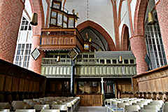Norden in northern Germany with the interesting church of St. Ludgeri; also the famous organ of Arp Schnitger